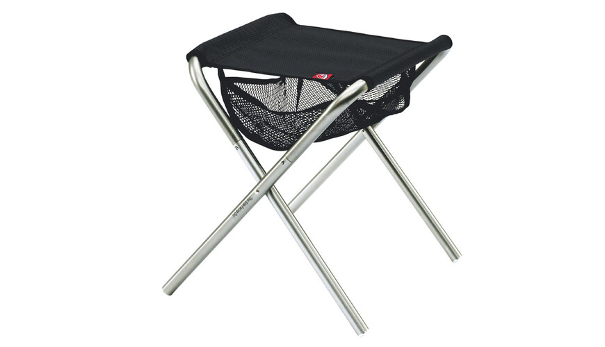 Robens Explo** Camping zitmeubel zwart/zilver